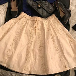 Betsey Johnson skirt-NWOT Size 6! Eyelet & lace